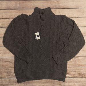 Gap Thick Grey Sweater BNWT